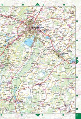 Lithuania Road atlas wwwkarteslv