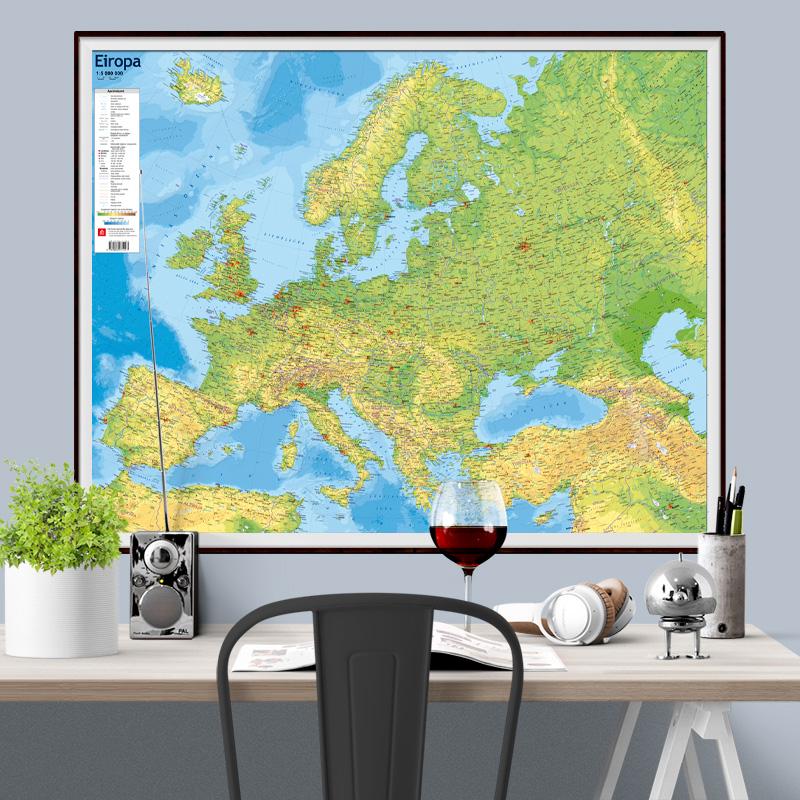 Europe Physio Map