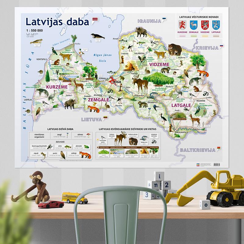 Latvijas-daba-sienas-karte