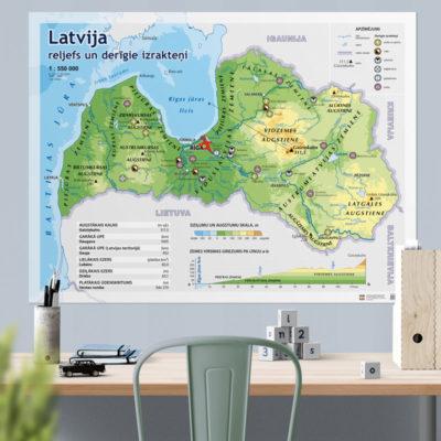 Latvijas-reljefs- derigie-izrakteni-karte