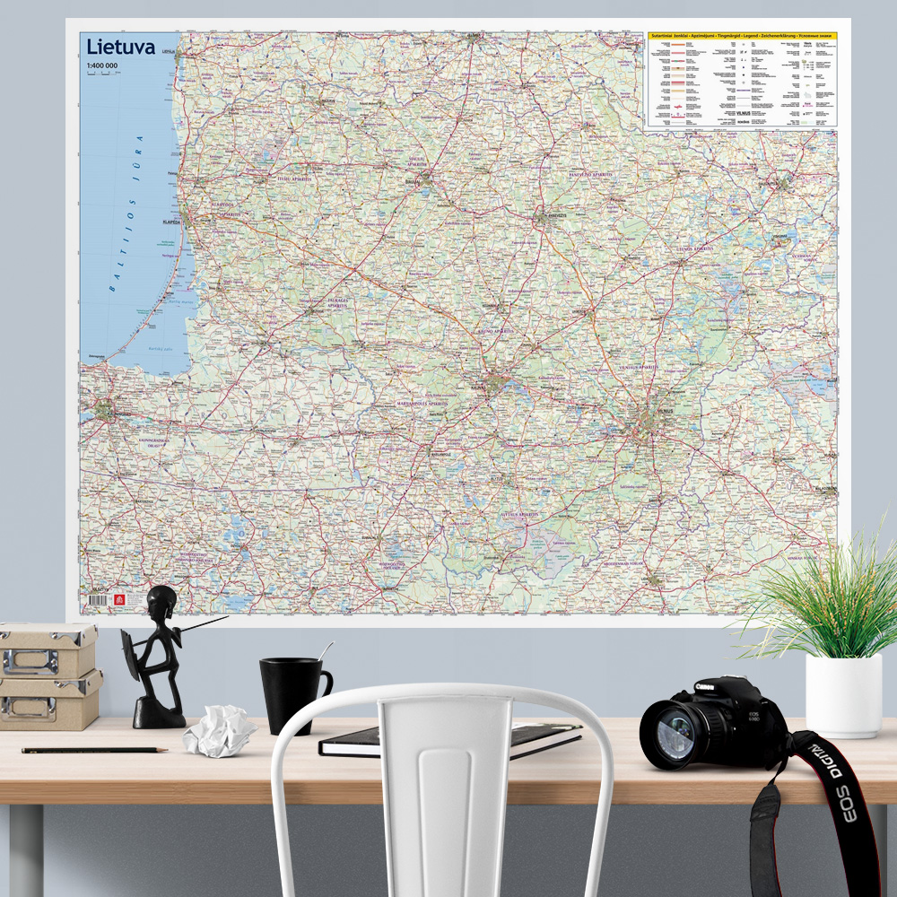 Lithuania-road-map