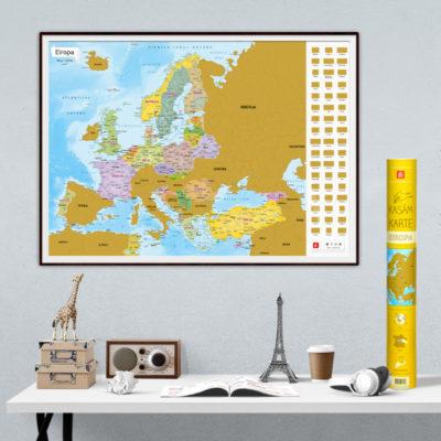 Kasamkarte Eiropa