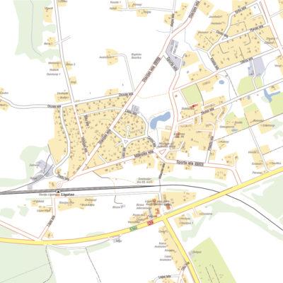 MyBalticMaps kartes izdruka