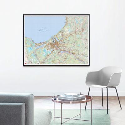 Rīgas novad karte